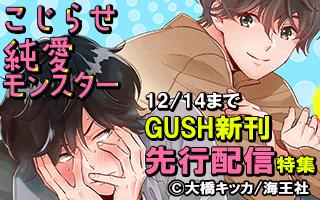 GUSH 新刊先行特集!!