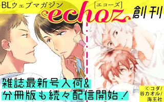 雑誌『echoz』特集