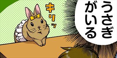 【タテコミ】うさぎは正義 5