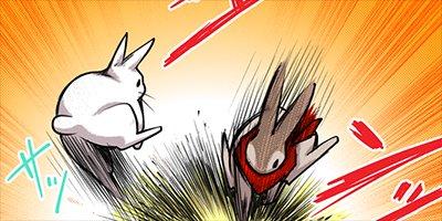 【タテコミ】うさぎは正義 10