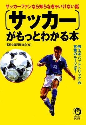 『サッカー』がもっとわかる本