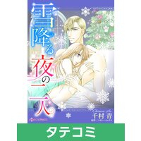 【タテコミ】雪降る夜の二人